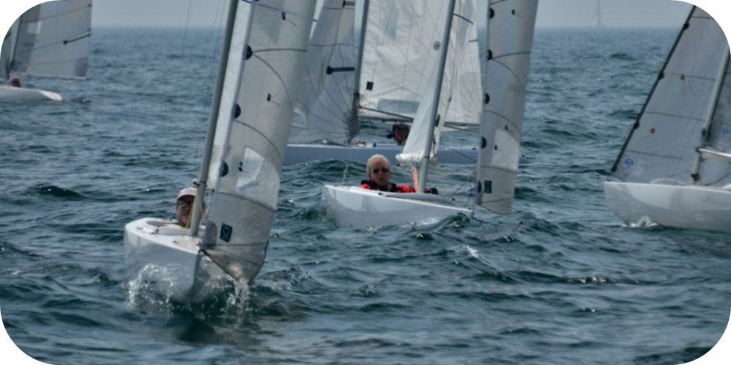 2.4mR Sailboats Racing